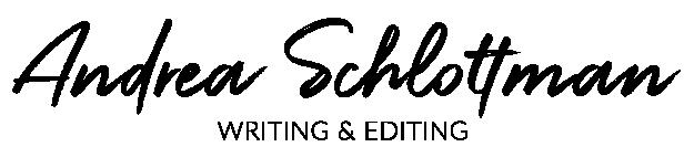 Andrea Schlottman Writing & Editing Logo